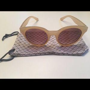 Anthropologie Rose-Lense Sunglasses